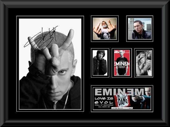 Eminem Montage 3 A E Music Music Memorabilia
