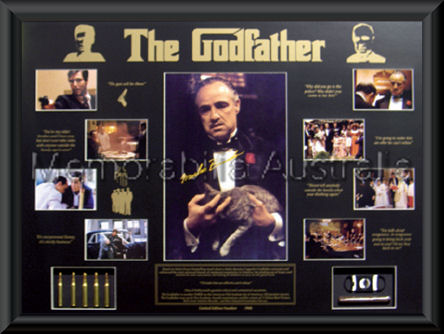 Godfather Le Large Photo Mat Framed Godfather Movie