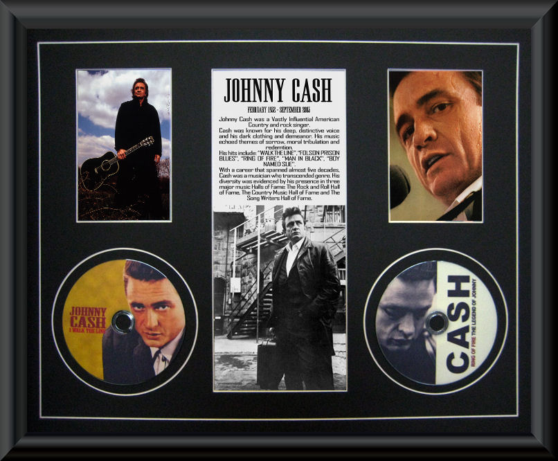 Johnny Cash 2 CD Montage :: F - K | Music :: Music Memorabilia ...