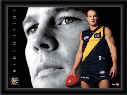 Ben Cousins Player Poster 2009