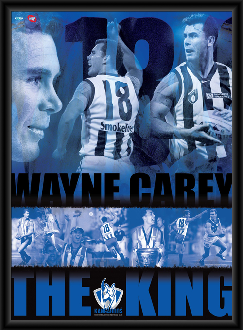 Wayne Carey Player Poster