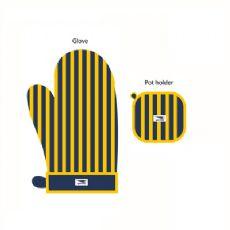 West Coast Eagles Oven Glove and Pot Holder Set