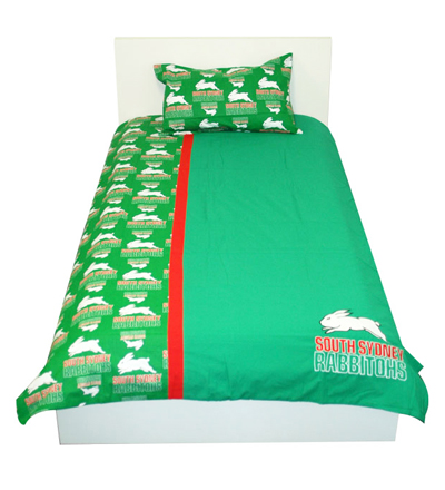 South Sydney Rabbitohs Doona Cover South Sydney Rabbitohs Nrl Rugby League Sports Merchandise Giftware Merchandise Memorabilia Australia