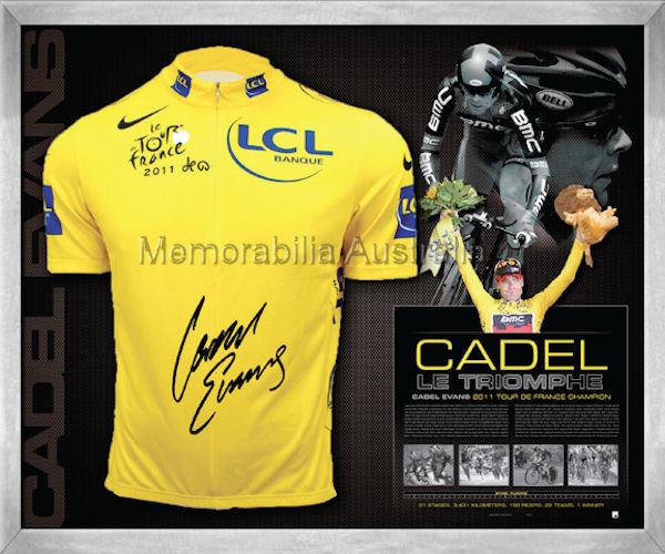 Cadel Evans 2011 Le Triomphe Jersey