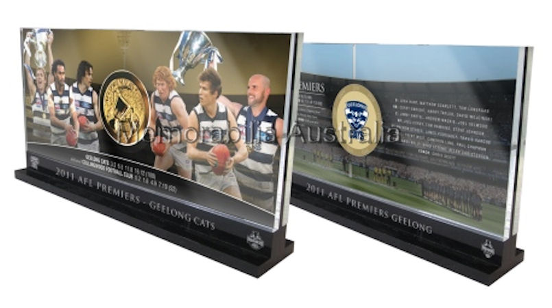 2011 AFL Premiership Medallion