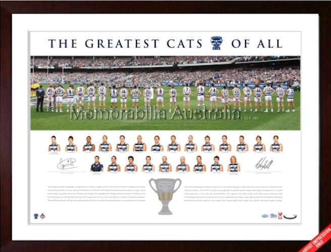 2011 AFL Premiers Capt/Coach Signed