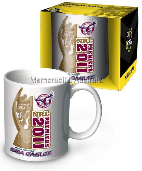 2011 Manly Premiers 11oz Mug