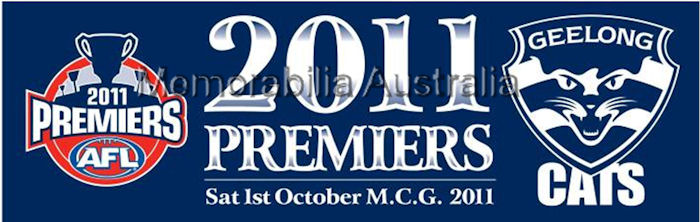 2011 AFL Premiership Bumper Sticker