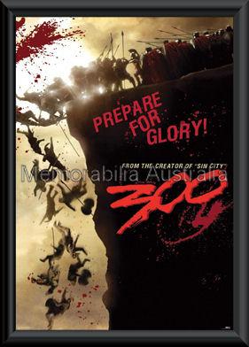 300 Prepare Poster Framed