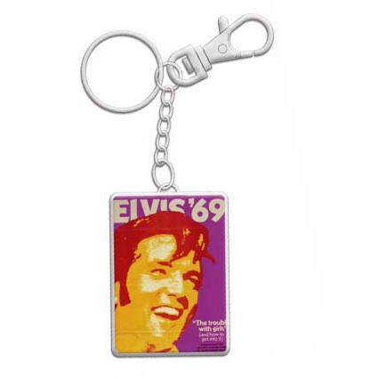 Elvis Keyring