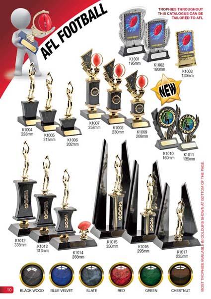 AFL Trophies 1