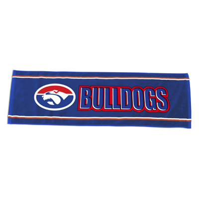 Western Bulldogs Bar Towel