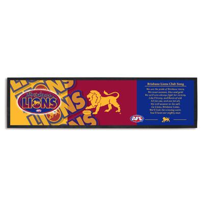Brisbane Lions Bar Runner