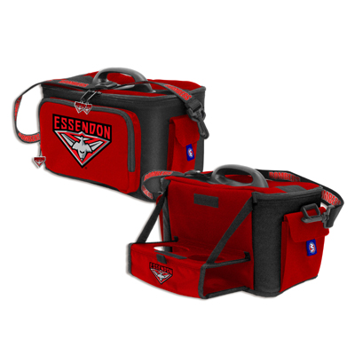 Essendon Bombers Cooler Bag with Drink Tray