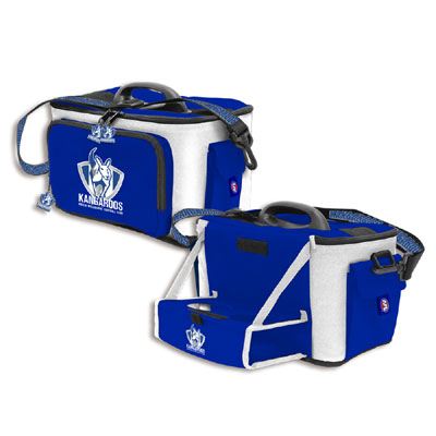 North Melbourne Kangaroos Cooler Bag with Drink Tray