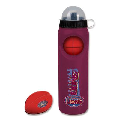 Birsbane Lions Drink Bottle with Stress Ball