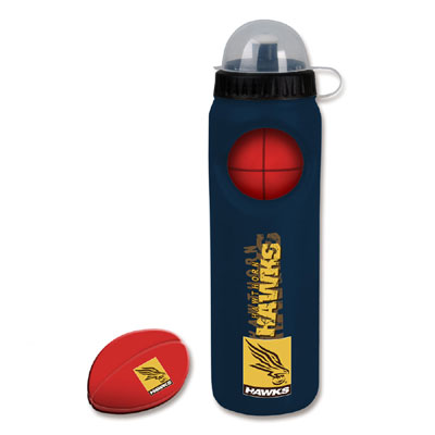 Hawthorn Hawks Drink Bottle with Stress Ball