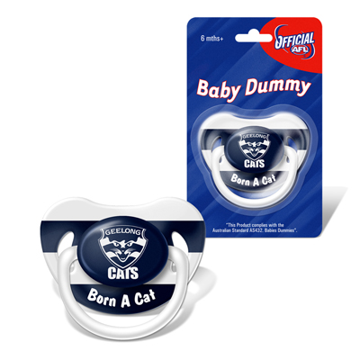 Geelong Cats Baby Dummy