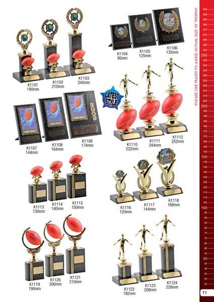 AFL Trophies 2