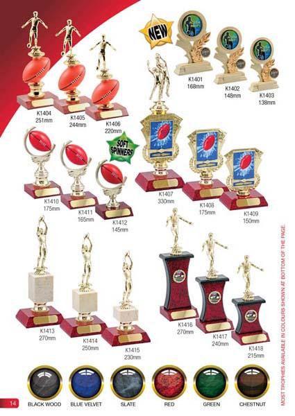 AFL Trophies 5
