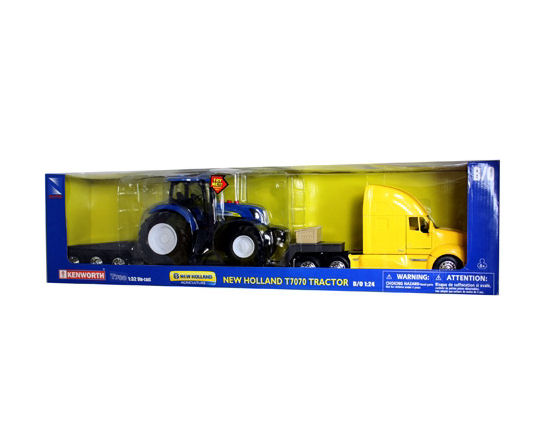 1:32  Kenworth with New Holland T7070 Tractor