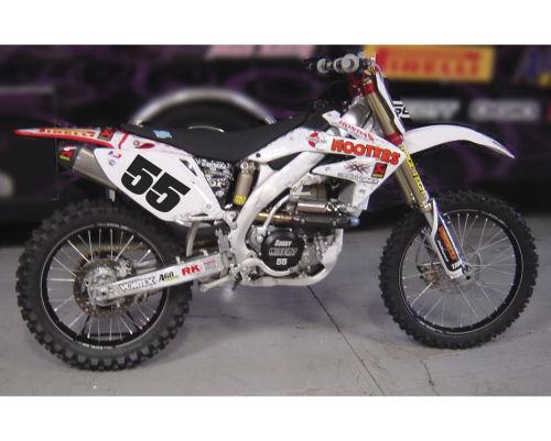 1:12  2008 Honda CRF Hooters Racing Team Dirt Bike