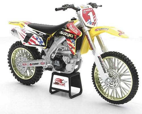 1:12  2007 Suzuki RM-Z450 Moto Nations R.Carmichael  Dirt Bike