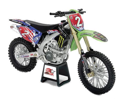 1:12  2007 Kawasaki KX 250F Moto Nations Ryan Villopotto#2 Dirt Bike