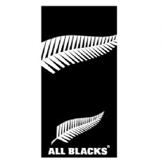 All Blacks Logo Beach Towel