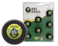 Canberra Raiders Pool Ball set