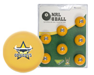 North Queensland Cowboys Pool Ball Set
