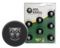 New Zealand Warriors Pool Ball Set