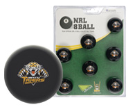 West Tigers Pool Ball Set