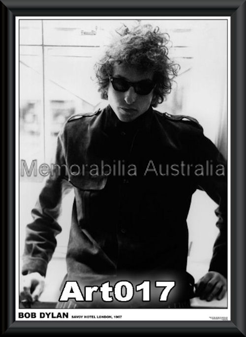 Bob Dylan Poster Framed