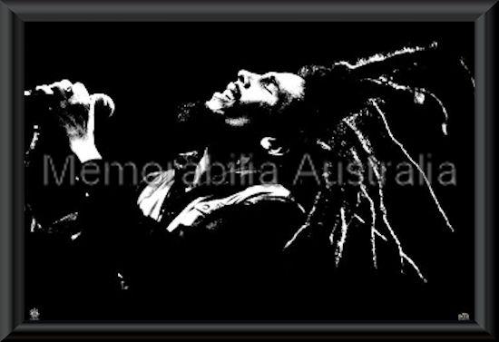 Bob Marley Poster Framed