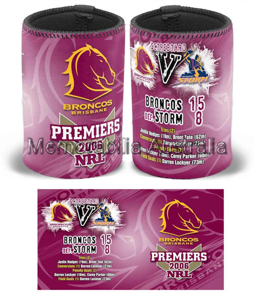 Brisbane Broncos 2006 Can Cooler