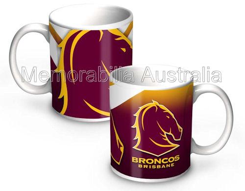 Brisbane Broncos   NRL 11oz Ceramic Mug