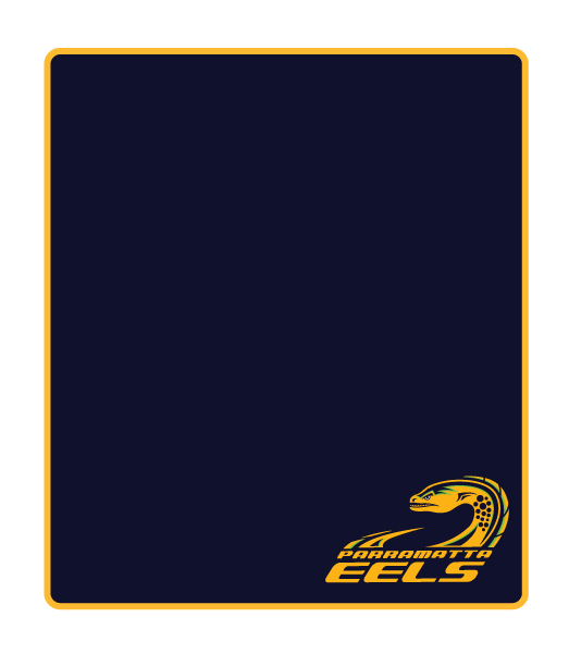 Parramatta Eels Polar Fleece Throw