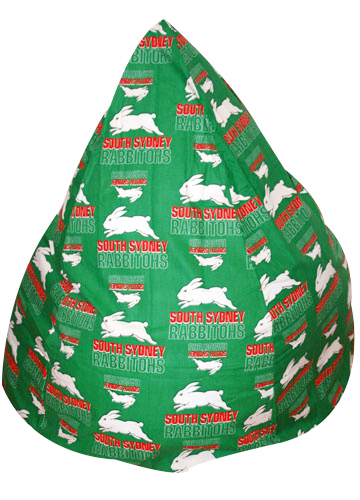 South Sydney Rabbithohs Bean Bag Cover