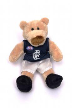 Carlton Blues Beanie Bear