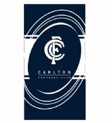 Carlton Blues Beach Towel