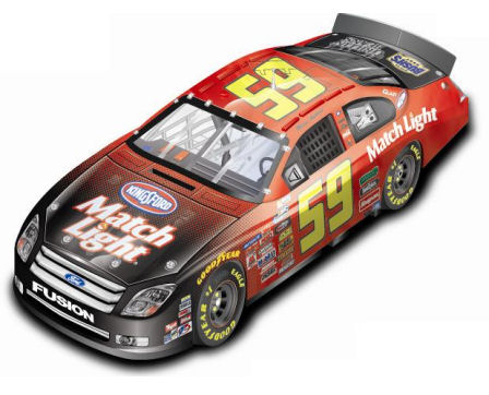 1:24  Nascar 2008 Marcus Ambrose Ford Match Light
