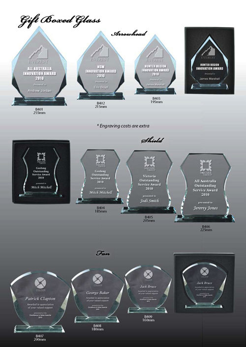 Glass Trophies 4