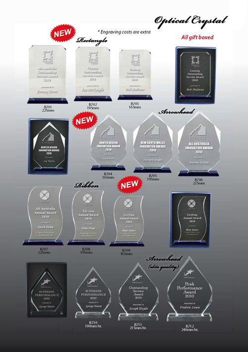 Glass Trophies 7