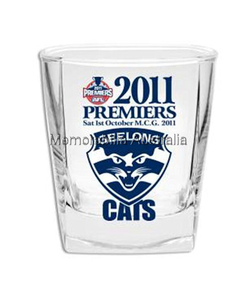 2011 Premiership Set 2 Spirit Glasses