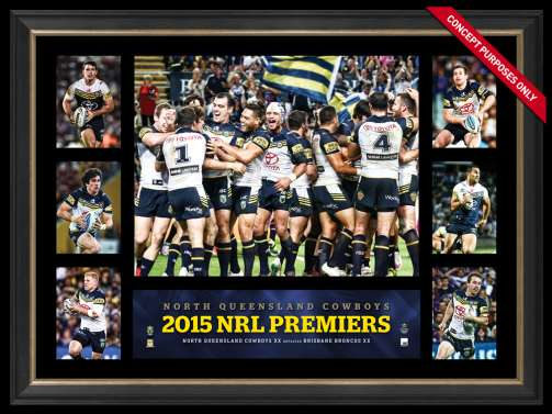 North Queensland Cowboys 2015 Premiergraph