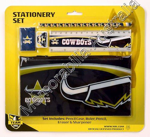North Queensland Cowboys NRL Stationery Set
