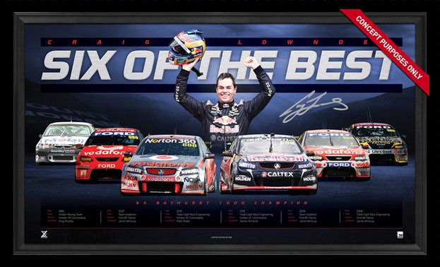 Craig Lowndes 6 of the Best