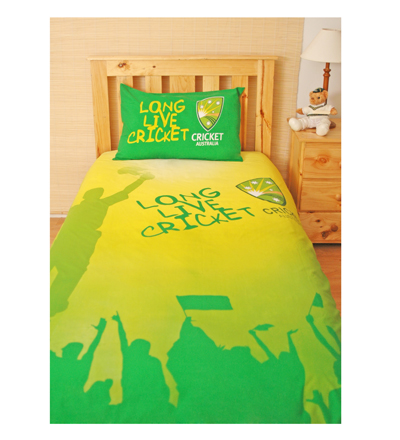 Cricket Doona Cover - Single