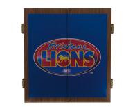 Brisbane Lions Dart Board Cabinet